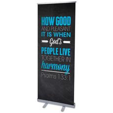 Slate Ps 133:1 Banner