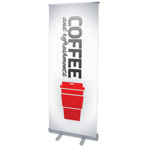 Pin Stripe Coffee Banners