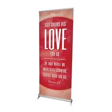 Celestial Rom 5:8 Banner