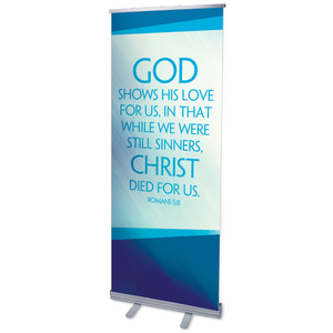 Color Rays Rom 5:8 Banners