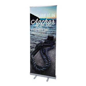 "Reflections Anchor 2'7"" x 6'7""  Vinyl Banner"