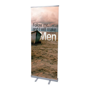 "Reflections Follow 2'7"" x 6'7""  Vinyl Banner"