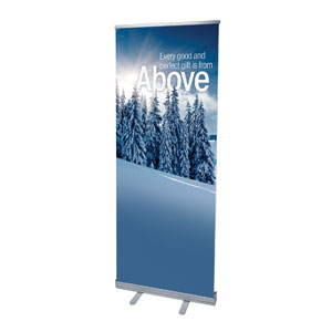"Reflections Above 2'7"" x 6'7""  Vinyl Banner"