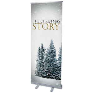 Christmas Story Trees Banners