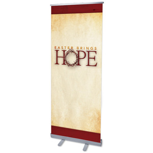 "Hope Crown 2'7"" x 6'7""  Vinyl Banner"