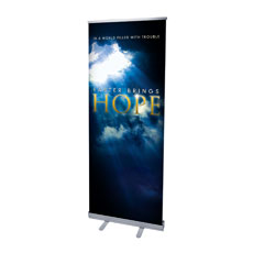 Hope Breaks Through Banner