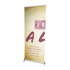 Alive Triptych L Banner