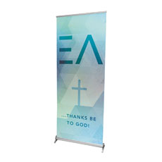 Easter Geometric L Banner