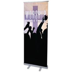 Worship Loud M Banner