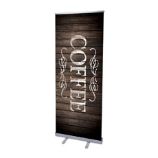 Rustic Charm Coffee Banner
