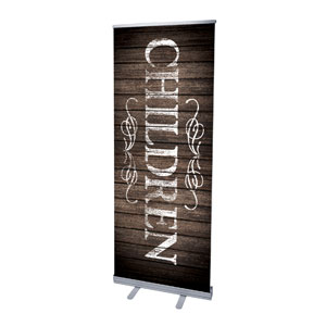 Rustic Charm Children Banners