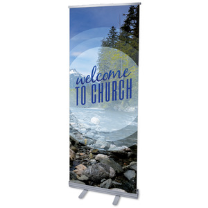 Season Welcome Mountain Banners