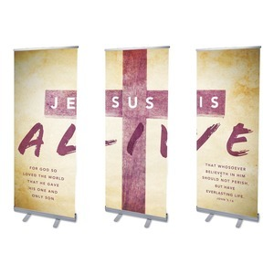 Alive Triptych  Banners