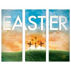 Easter Triptych Banner