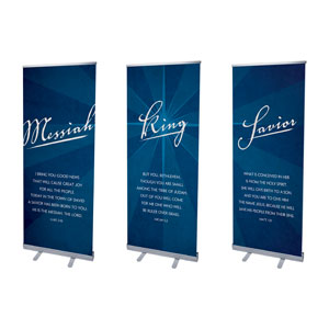 Titles Triptych Banners