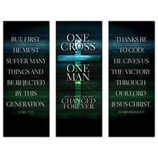 One Cross Triptych