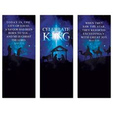 Celebrate the King Triptych Banner