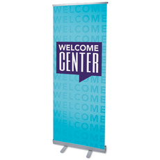 Welcome Center Blue