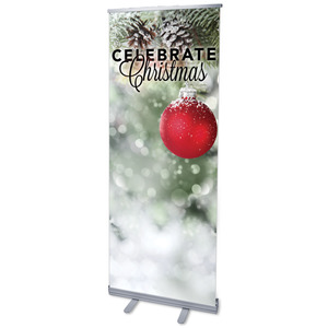 Red Logo Ball Banners