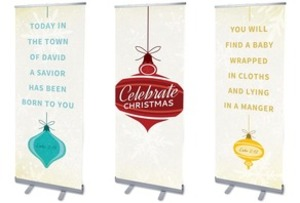 Retro Ornaments Banners