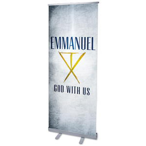 "Light of the World Star L 2'7"" x 6'7""  Vinyl Banner"