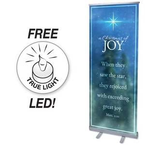 Christmas of Joy Banners