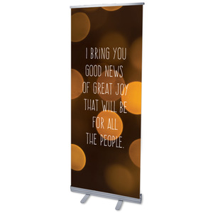 Good News Great Joy L Banners