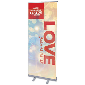 One Amazing Season Love Banners