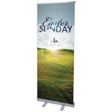 Easter Hillside Banner