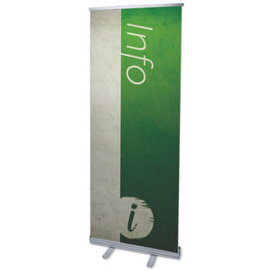 "Color Block Info 2'7"" x 6'7""  Vinyl Banner"