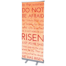 Holy Words Easter Banner