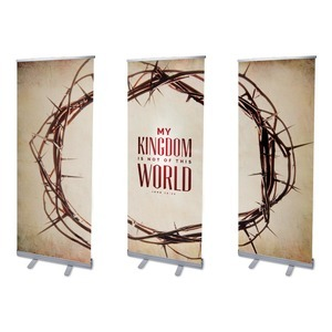 My Kingdom Triptych Banners