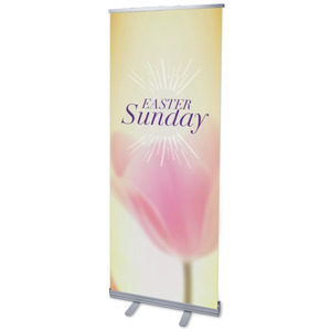 "Traditions Easter Sunday 2'7"" x 6'7""  Vinyl Banner"