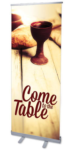 Banners, Communion, Come to the Table , 2'7 x 6'7
