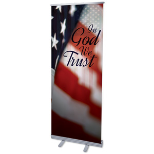 God We Trust Banners