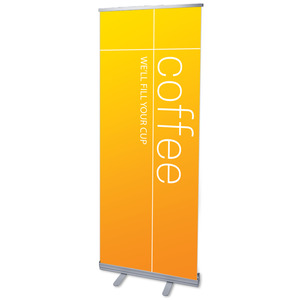 Color Wash Coffee Banners