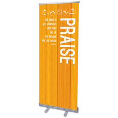 Painted Wood Praise Banner