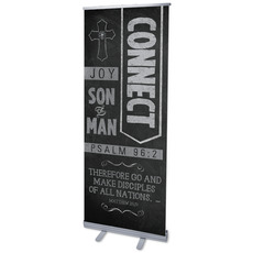 Chalkboard Art Connect Banner
