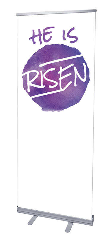 Watercolor Circle Risen Banners