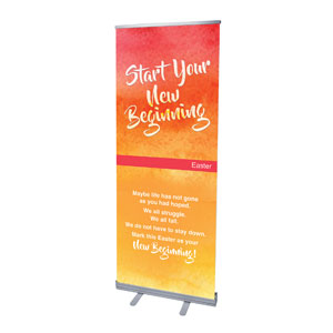 Big Invite New Beginning Banners