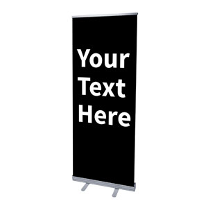 "Your Text Here White 2'7"" x 6'7""  Vinyl Banner"