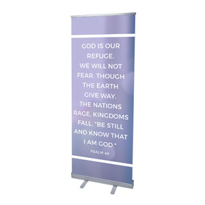 Shimmer Psalm 46 Banners