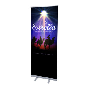 "The Star: A Journey to Christmas Spanish 2'7"" x 6'7""  Vinyl Banner"