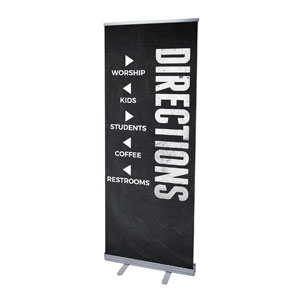 Slate Directional Banners