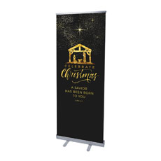 Black and Gold Nativity