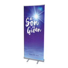 Son Given Star Banner