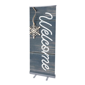 Wood Ornaments Welcome Banners