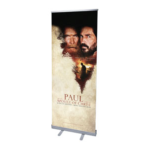 "Paul, Apostle of Christ 2'7"" x 6'7""  Vinyl Banner"