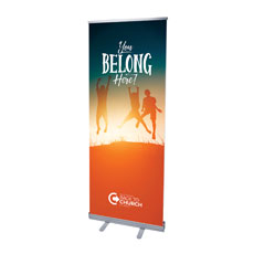 BTCS You Belong Here Kids Banner