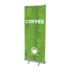 CityReach Blurred Green Coffee Banner